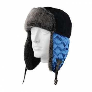 Russische bontmuts beardsen blauw