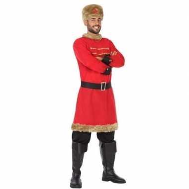 Russische kozak verkleed kostuum heren