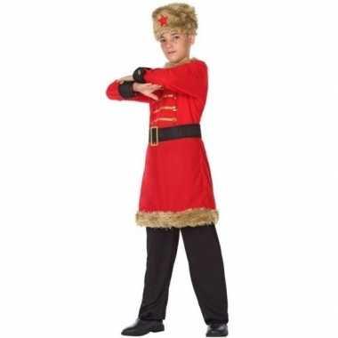 Russische kozakken verkleed kostuum jongens