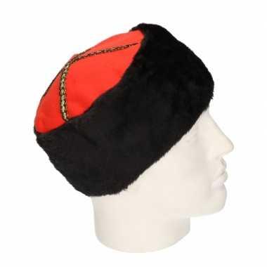 Russische x stuks kozakken verkleed hoed volwassenen
