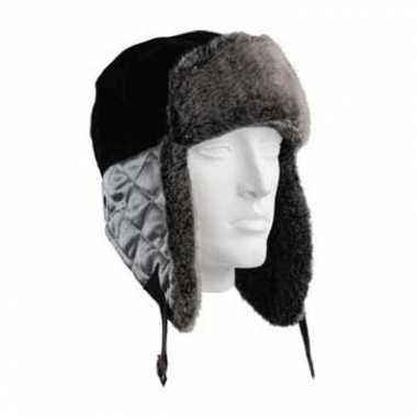Russische  Zwarte bontmuts Beardsen grijze flappen